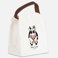 Save Cows Canvas Lunch Bag