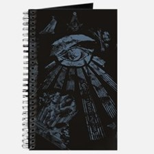 Masonic Fantasy Blue Journal