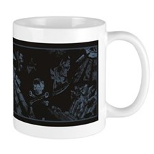 Masonic Fantasy Blue Mug