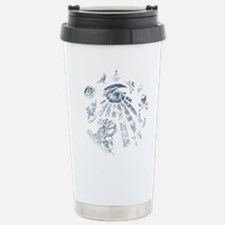 Masonic Fantasy Blue Travel Mug