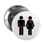 Love (Men & Women) Button