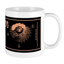 All Seeing Eye Masonic Psychic Mug