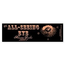 All Seeing Eye Masonic Psychic Bumper Bumper Sticker