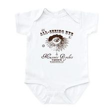 All Seeing Eye Masonic Psychic Infant Bodysuit