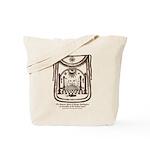 George Washington's Masonic Apron Tote Bag