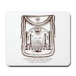 George Washington's Masonic Apron Mousepad