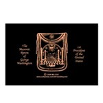 George Washington's Masonic Apron Postcards (Packa