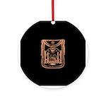 George Washington's Masonic Apron Ornament (Round)
