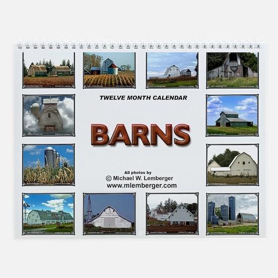 Midwestern Barns Wall Calendar