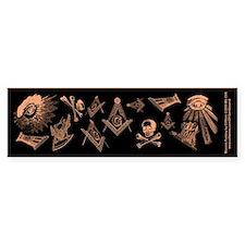Masonic Fantasy Bumper Bumper Sticker