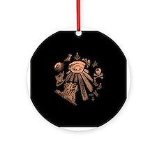 Masonic Fantasy Ornament (Round)