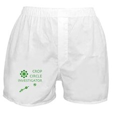 Crop Circle Investigator Boxer Shorts
