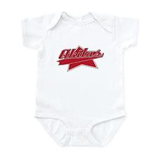 Baseball Akita Baby Bodysuit