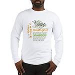 Crop Circle Inv V2 Long Sleeve T-Shirt