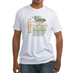 Crop Circle Inv V2 Fitted T-Shirt