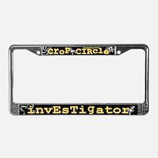 Crop Circle Inv V2 License Plate Frame