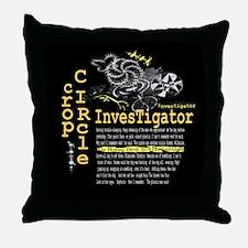 Crop Circle Inv V2 Throw Pillow