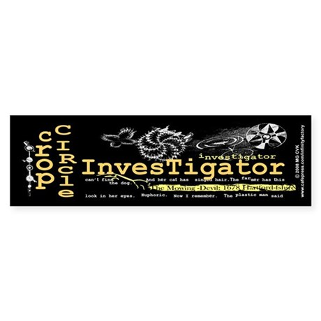 Crop Circle Inv V2 Bumper Sticker
