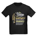 Crop Circle Inv V2 Kids Dark T-Shirt