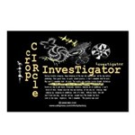 Crop Circle Inv V2 Postcards (Package of 8)