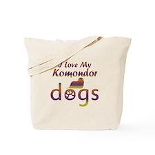 Komondor designs Tote Bag