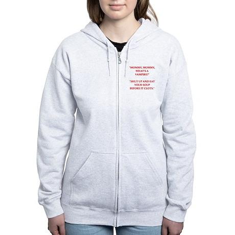 SICK3.png Women's Zip Hoodie