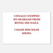 husband Postcards (Package of 8)