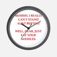 mommy Wall Clock