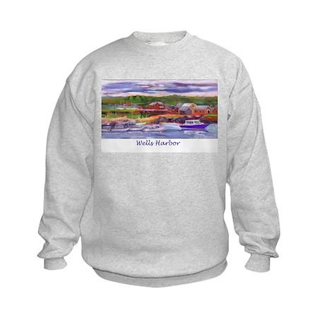 Wells Harbor Kids Sweatshirt