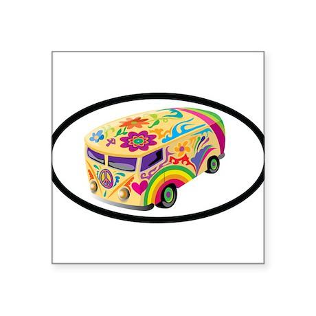 Microbus Euro Oval Sticker