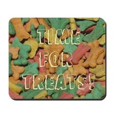 "Dog Treat ""Time For Treats"" Mousepad"