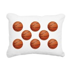 Basketball Rectangular Canvas Pillow