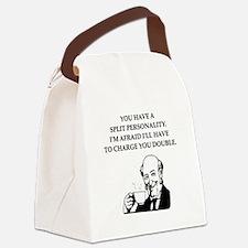 psycho Canvas Lunch Bag