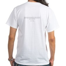 Football Mom with quote on back Shirt