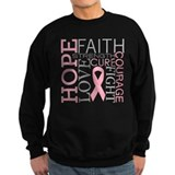 Breast cancer Sweatshirt (dark)