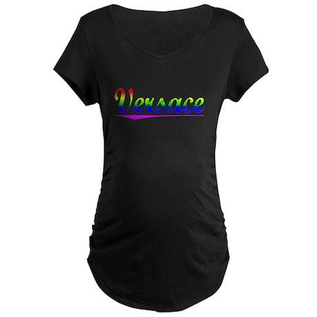 Versace, Rainbow, Maternity Dark T-Shirt