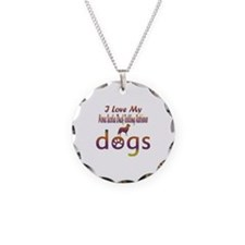 Nova ScotiaDuck Tolling Retriever designs Necklace