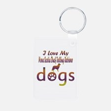 Nova ScotiaDuck Tolling Retriever designs Keychains