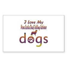 Nova ScotiaDuck Tolling Retriever designs Decal