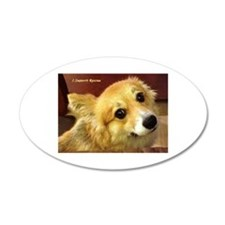 I Support Rescue Wall Decal