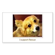 I Support Rescue Decal