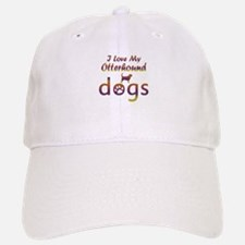Otterhound designs Baseball Baseball Cap