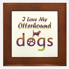 Otterhound designs Framed Tile