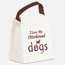 Otterhound designs Canvas Lunch Bag