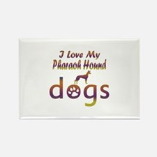 Pharaoh Hound designs Rectangle Magnet