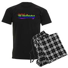 Whitney, Rainbow, Pajamas