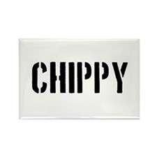 Chippy Rectangle Magnet