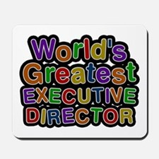 World's Greatest EXECUTIVE DIRECTOR Mousepad