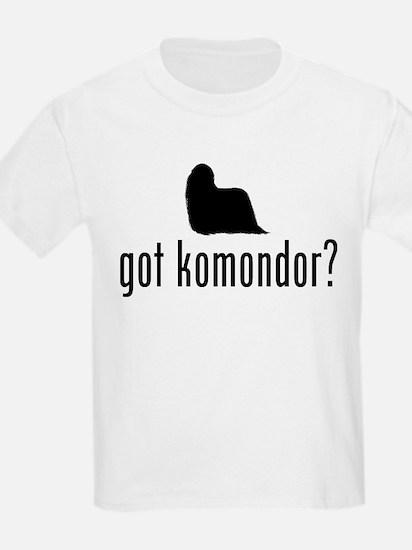 Komondor Kids T-Shirt