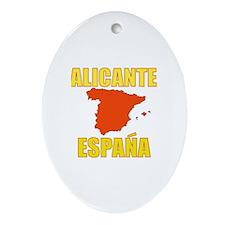 Unique Alicante Oval Ornament